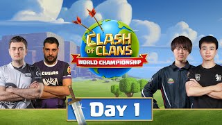 World Championship #6 Qualifier Day 1 - Clash of Clans