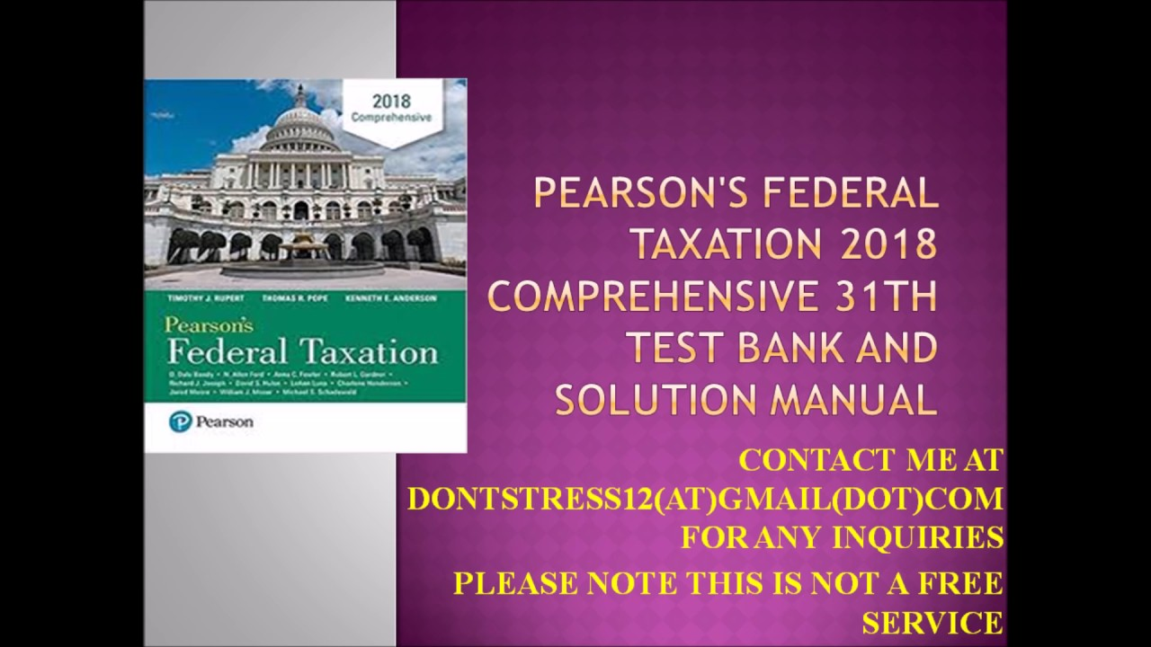 federal taxation test paper After confirming that the paper is good, we send it to you you can download the paper from our website or from your email.