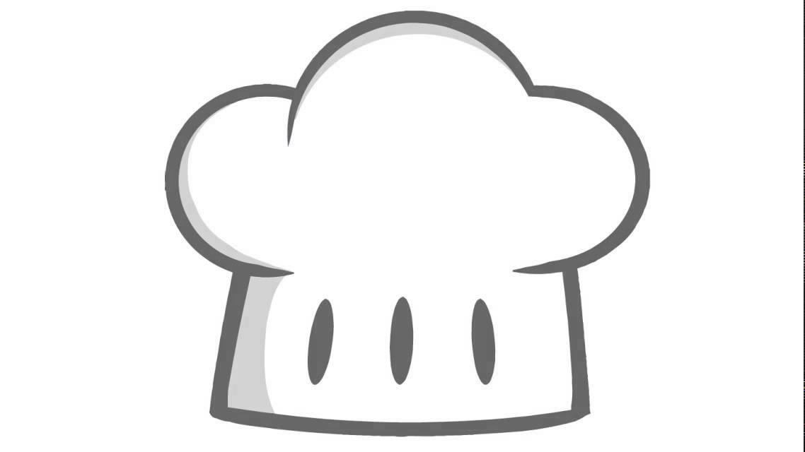 Come disegnare un cappello da cuoco