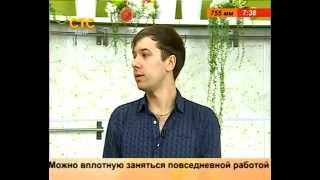 Известный шоумен Денис в прямом эфире СТС