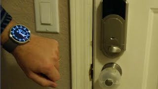 Lock/unlock Z-wave Deadbolt W/ Google Now & Android Wear Voice Commands