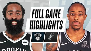NETS at SPURS | FULL GAME HIGHLIGHTS | March 1, 2021