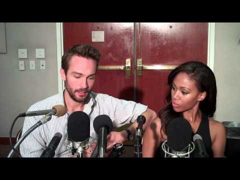 TOM MISON (w/ co-star NICOLE BEHARIE) ON 'SLEEPY HOLLOW'