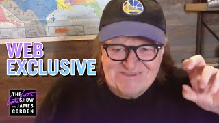 Michael Moore Has 0 Interest In the Trump Family - Web Exclusive