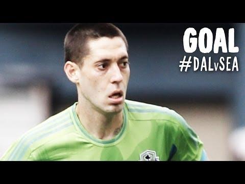GOAL: Clint Dempsey spectacular free kick | FC Dallas vs. Seattle Sounders