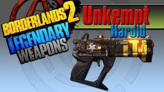 borderlands 2   unkempt harold legendary weapons guide