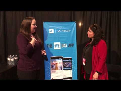 Interview with Lynelle Cantwell at WE Day Montreal 2017 #RiseAbove