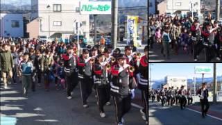 2014年1月5日(日)に開催された、松川町消防団出初式のようすを写真の...