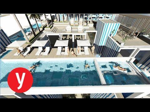 הדמיה: מלון ישרוטל החדש באילת
