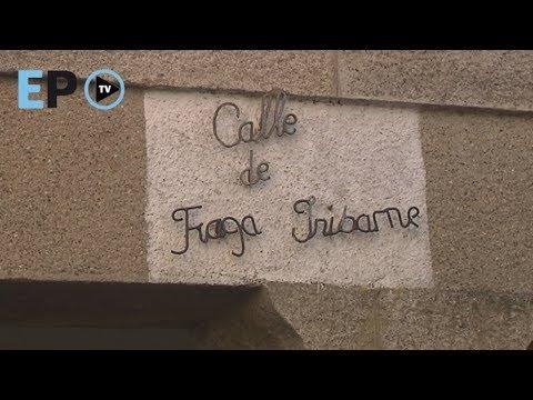 """Serrano ve unha """"paiasada"""" a petición de mudar o nome á rúa Fraga"""