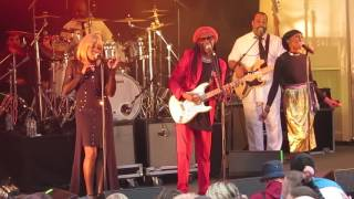 Chic :- I Want Your Love :- Live @ Kelvingrove Bandstand , Glasgow 11 / 06 / 2017