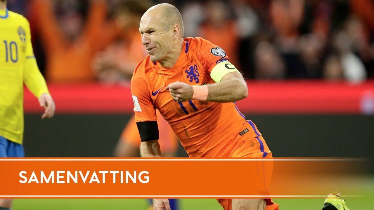 Голландия - Швеция 2:0 видео