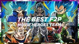 BEST F2P 'MOVIE HEROES' CATEGORY TEAM SHOWCASE | DBZ Dokkan Battle