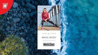 MAKE BODY с Екатериной Малыгиной 14 декабря 2020 Онлайн тренировки World Class