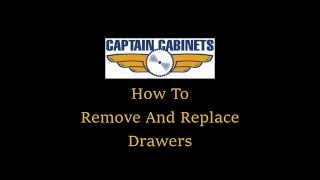 How To Remove And Replace Drawers