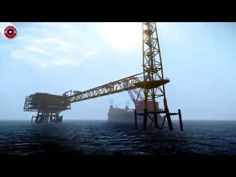 Offshore Platform Installation- Deck Installation