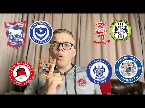 PREDICTING EVERY LEAGUE ONE CLUBS FA CUP TIE... ROUND 1!