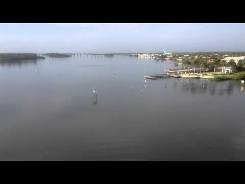 Vero Beach, Florida - The view from the Merrill P. Barber Bridge HD (2015)
