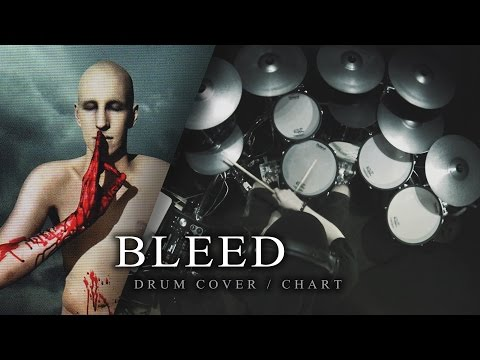 Meshuggah - Bleed [Drum Cover/Chart]