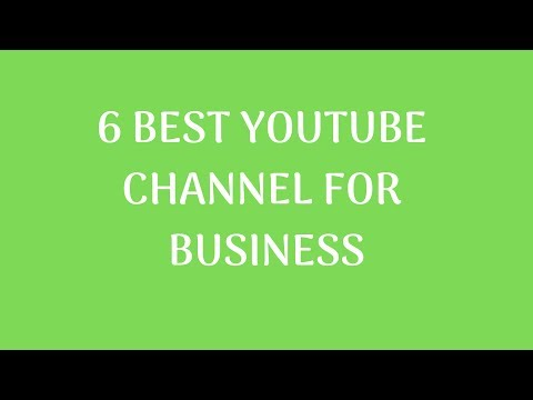 Best Youtube Channel For Business