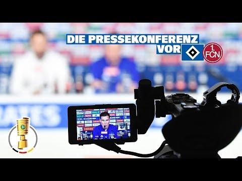 RELIVE: Die Pressekonferenz vor dem Achtelfinale im DFB-Pokal gegen den 1. FC Nürnberg