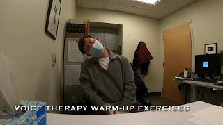 Voice Therapy Warm Up Exercises