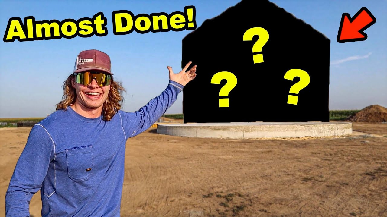 Building The Foundation For Our Mega Grain Bin!