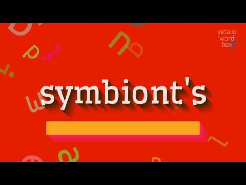 "How to say ""symbiont"