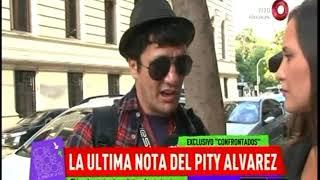 La última nota del 'Pity' Álvarez