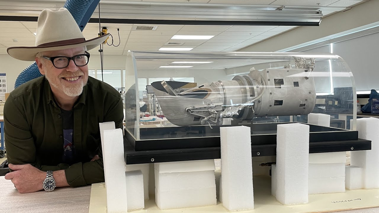 Adam Sees One of National Air and Space's Favorite Artifacts!