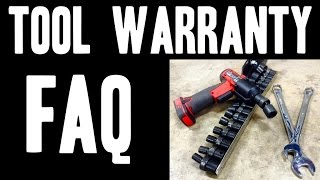 FAQ - Tool Warranty (What You Need To Know)