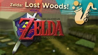 "Lost Woods (From ""Zelda: Ocarina of Time"") - Soprano Saxophone Game Cover"
