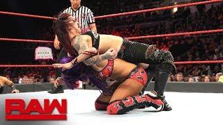Sasha Banks vs. Ruby Riott: Raw, Oct. 22, 2018