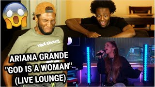 Ariana Grande - God Is A Woman in the Live Lounge (REACTION)