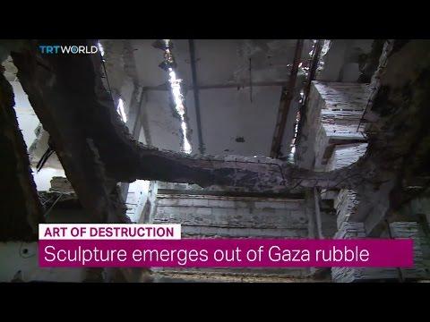 Showcase: Installation in Gaza by Dutch Artist