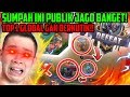 SUMPAH INI PUBLIK JAGO BANGET! TOP 1 GLOBAL DIJADIIN DEBU!! - Mobile Legends