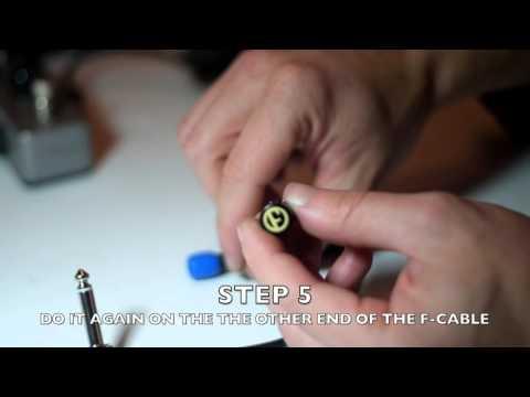 F Cables Assembly(ビデオで分かる!!エフペダルズのケーブルを組み立てる)