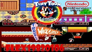 Tiny Toon Adventures 2 - Trouble in Wackyland - NES: Tiny Toon Adventures 2: Trouble in Wackyland (longplay) - User video