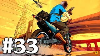 GTA 5 PS3: Playthrough Part 33[Trash Truck, Tow Truck, Boiler Suits, Masks and Getaway Vehicle]