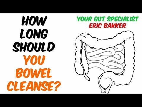 How Long Should I Do A Bowel Cleanse For?