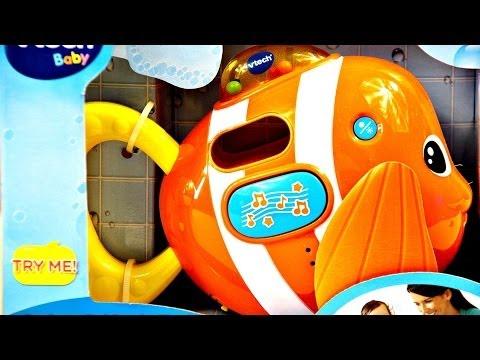 Sing And Splash Fish / Grająca Rybka Do Kąpieli - VTech - 60251 - Recenzja