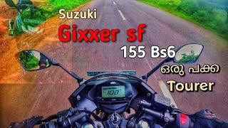 Suzuki gixxer sf 155 Bs6 Malayalam Review || മലയാളം Review