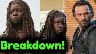 The Walking Dead Season 10 'Danai Gurira on Michonne's Exit' + Return in Rick Grimes Movie Breakdown