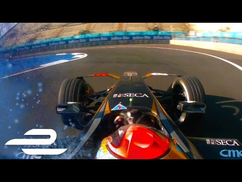 Onboard Lap Of Julius Baer Mexico City ePrix Track - Formula E