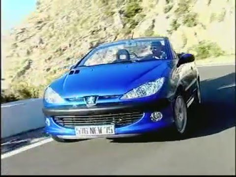 peugeot 206 cc test essai reportage fr 2000 youtube. Black Bedroom Furniture Sets. Home Design Ideas