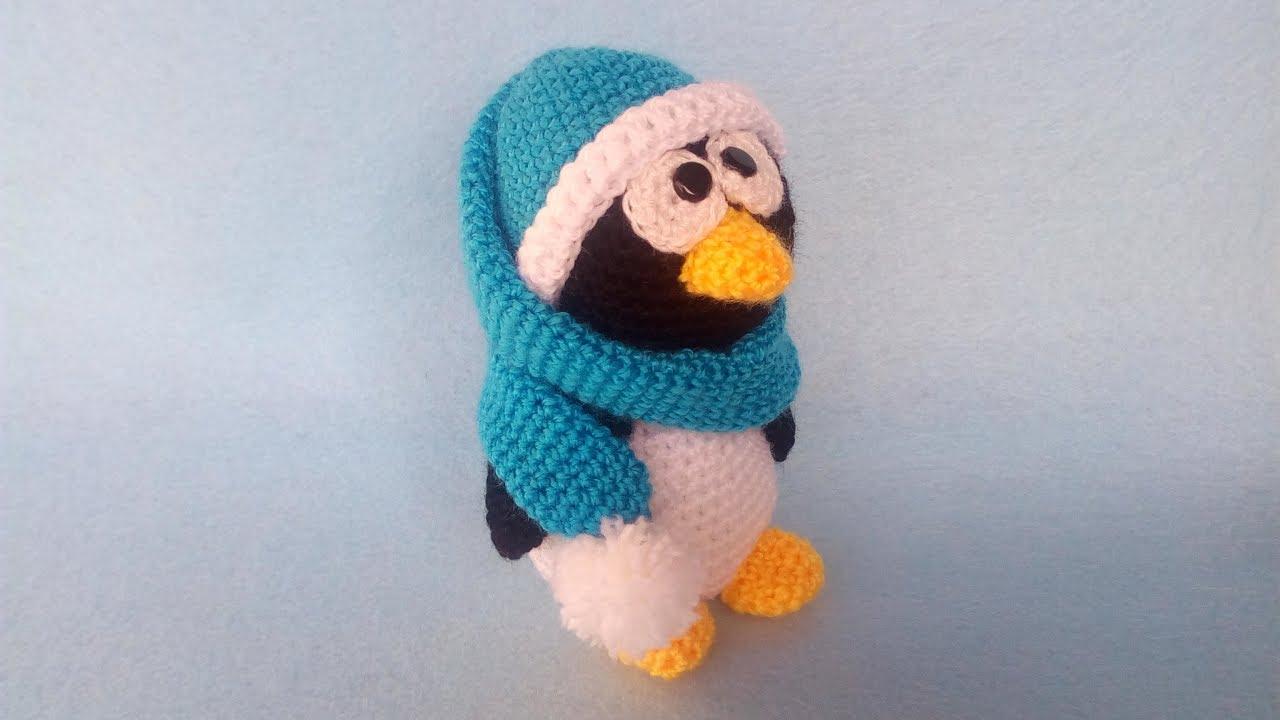 Pinguino Uncinetto Amigurumi Tutorial Penguin Crochet Pinguino