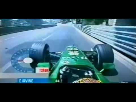 F1 Monaco 2001 - Eddie Irvine Onboard Qualifying Lap