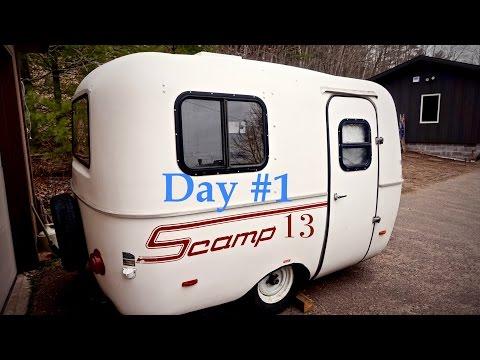 Scamp 13 (Day 1 Demolition)