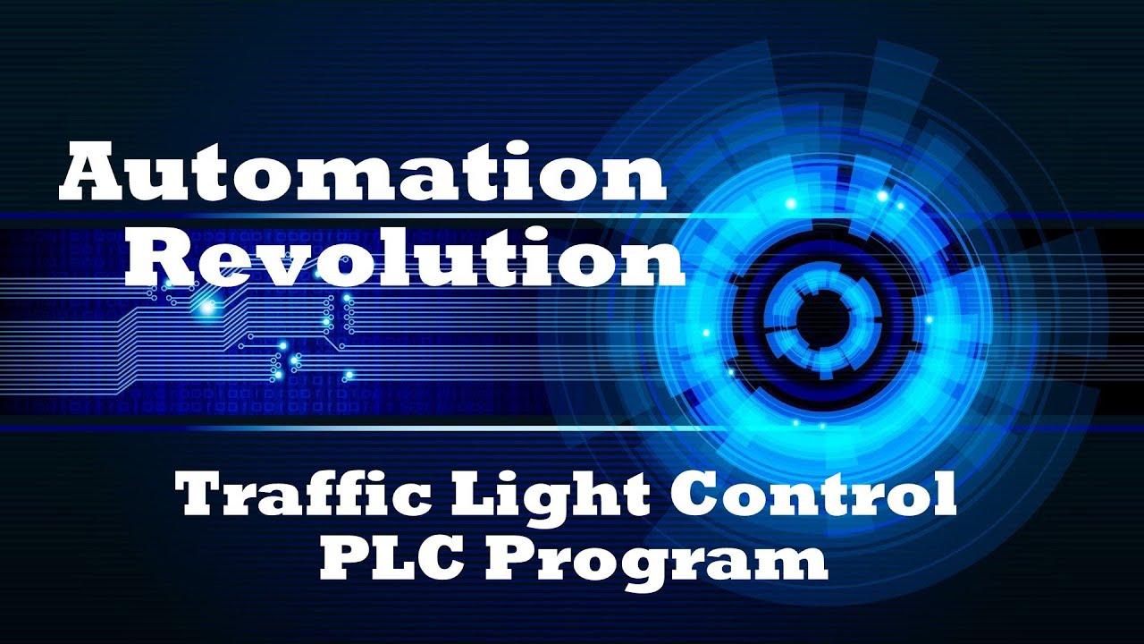 Traffic Light Control PLC Program using Timers