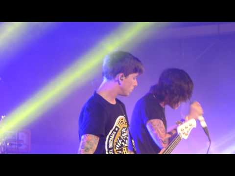 Sleeping With Sirens-If I'm James Dean, you're Audrey Hepburn -Solus, Cardiff- 5/18/13